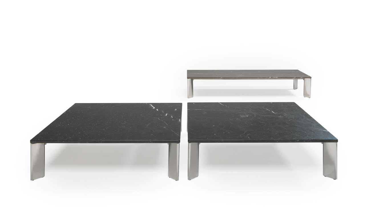 Modern Otello coffee table in marble