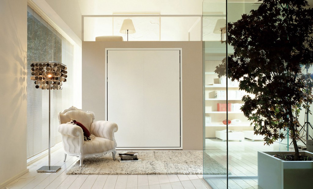 Penelope without sofa by clei anima domus for Clei wall bed