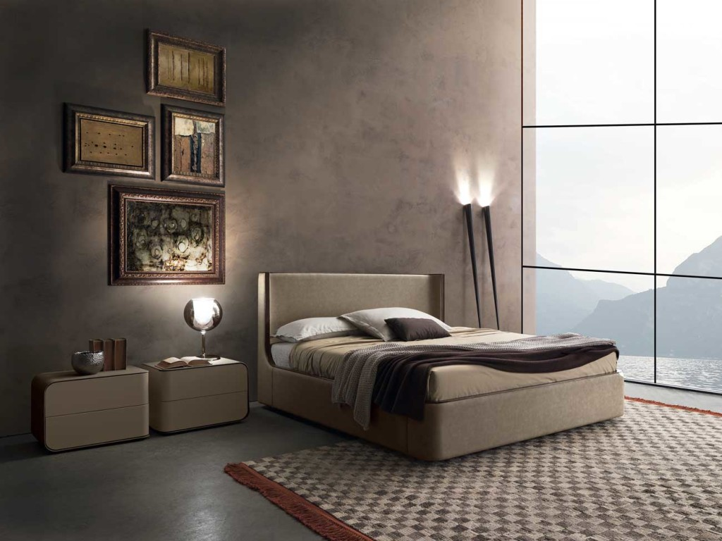 Presotto Contemporary Callas Bed Beds Anima Domus