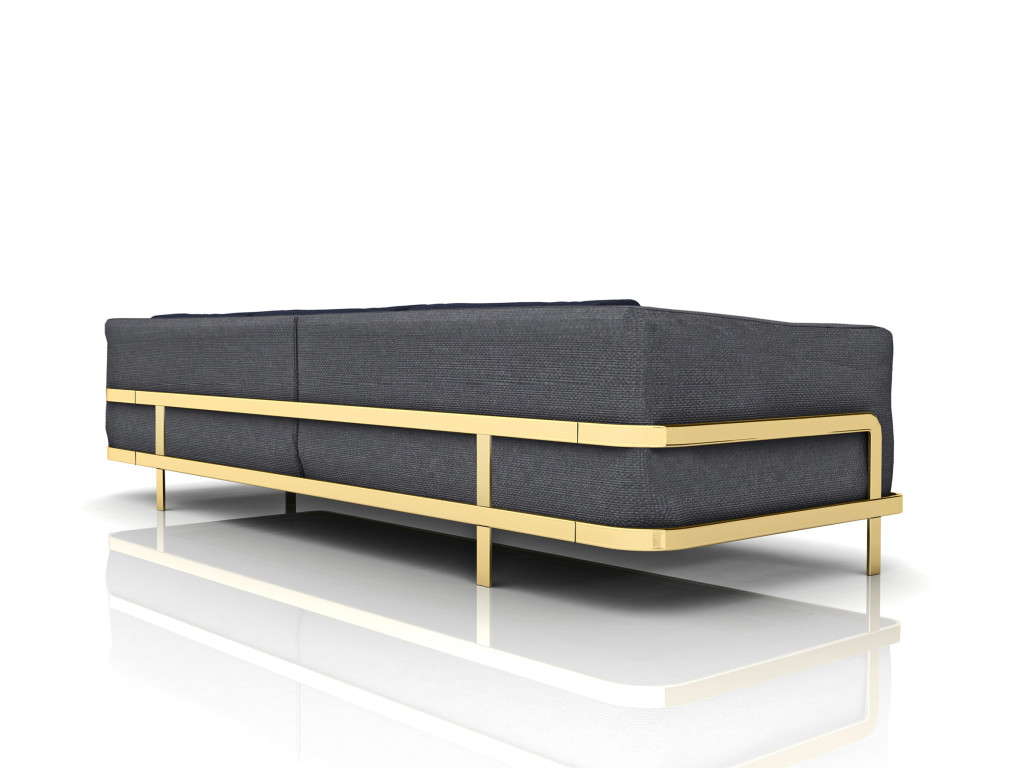 New at Salone del Mobile 2014, Odilon sofa designed by Marco Corti