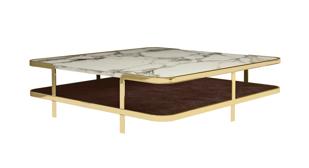New at Salone del Mobile 2014, Odilon coffee table designed by Marco Corti