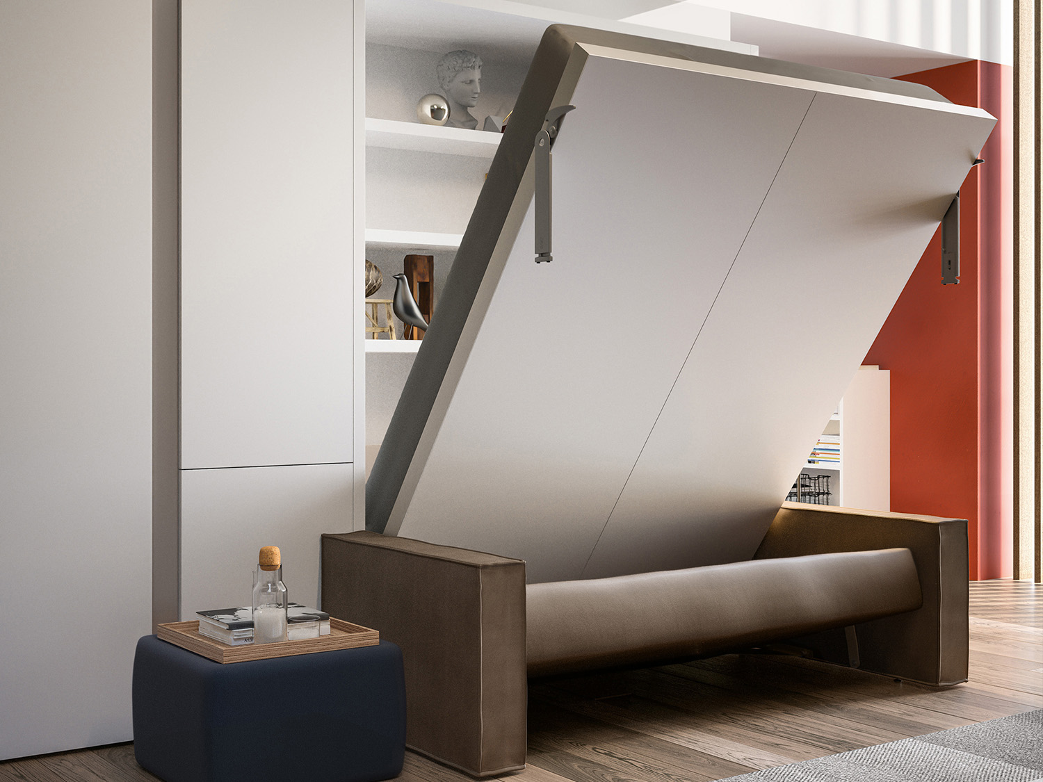 Penelope Wall Bed With Sofa By Clei Anima Domus