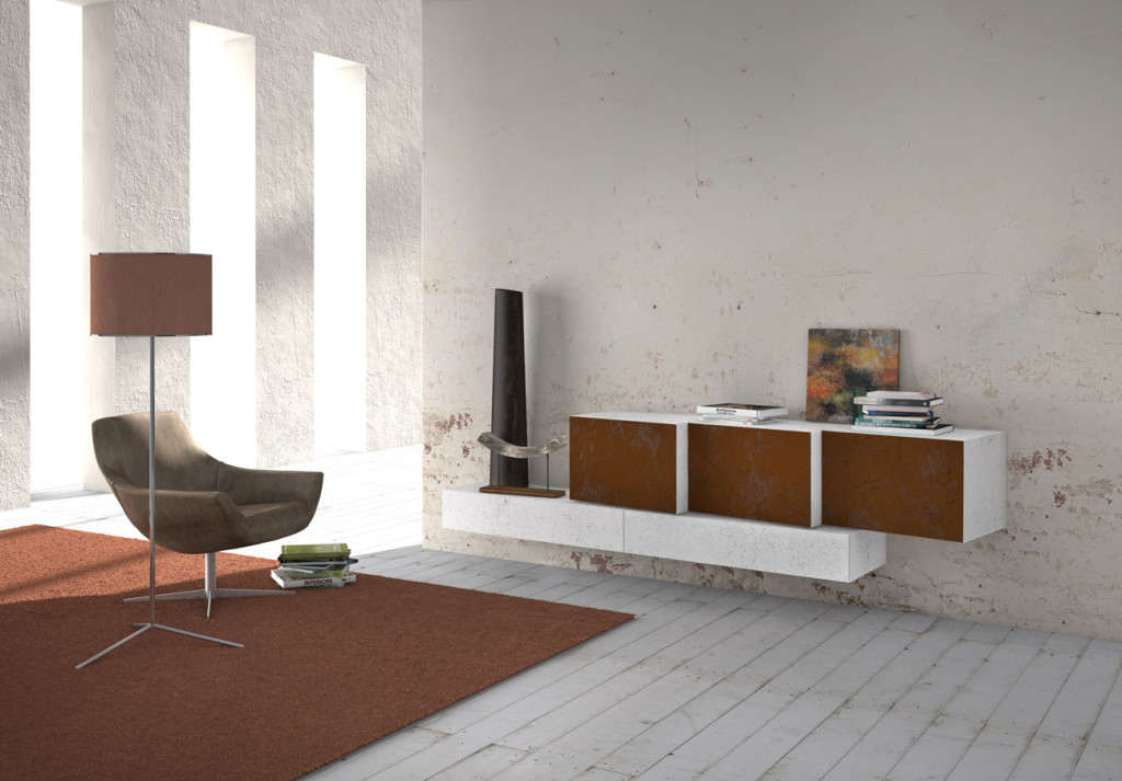 Presotto Italia InclinArt wall units