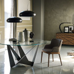 Modern Skorpio Contemporary dining table by Cattelan Italia