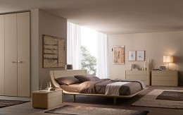 Contemporary bedroom furniture Presotto Aqua bed i
