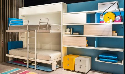 Clei Kali Duo Bunk Bed Murphy Bed