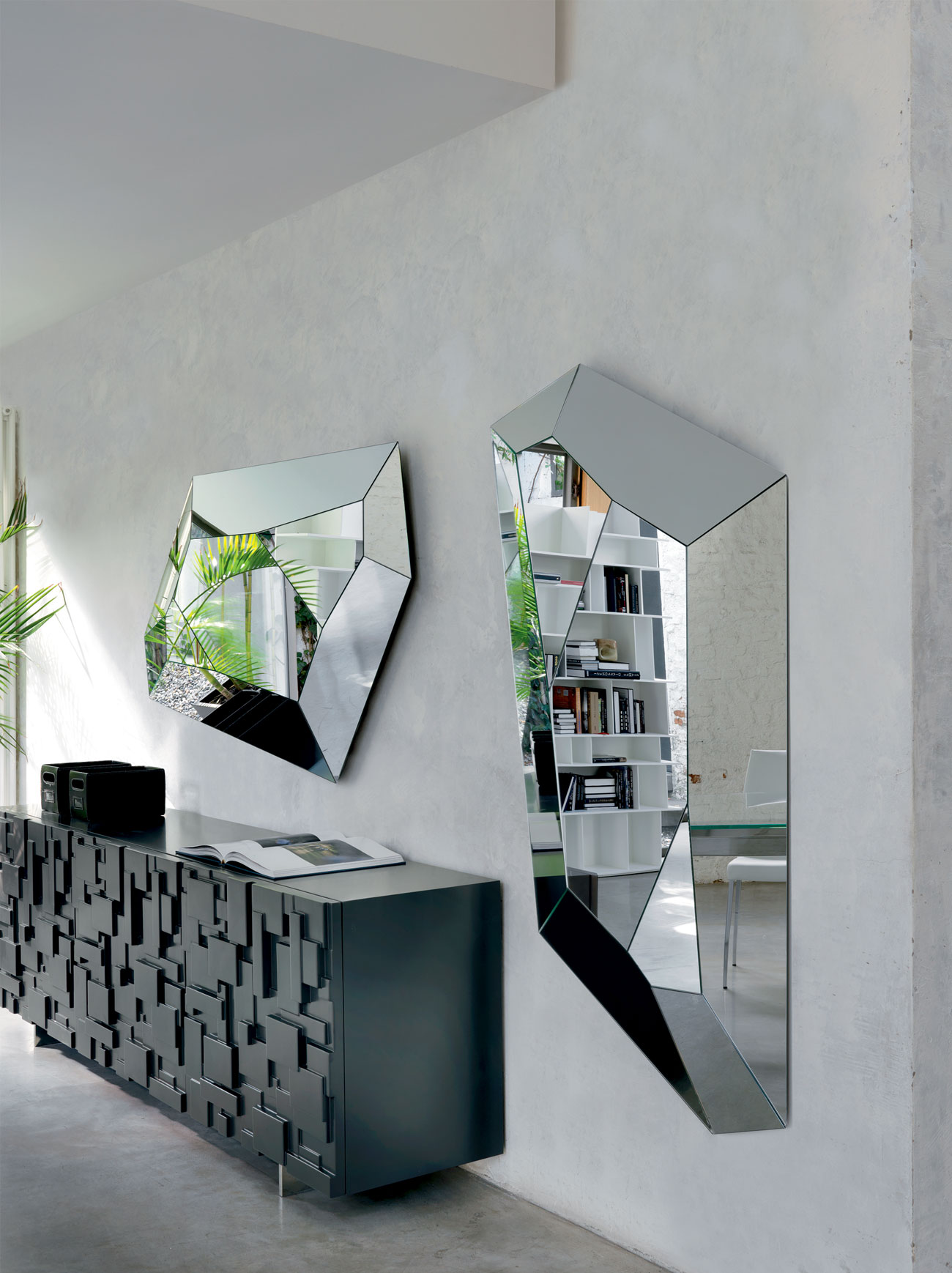 Modern Mirror by Cattelan Italia – Diamond Mirror