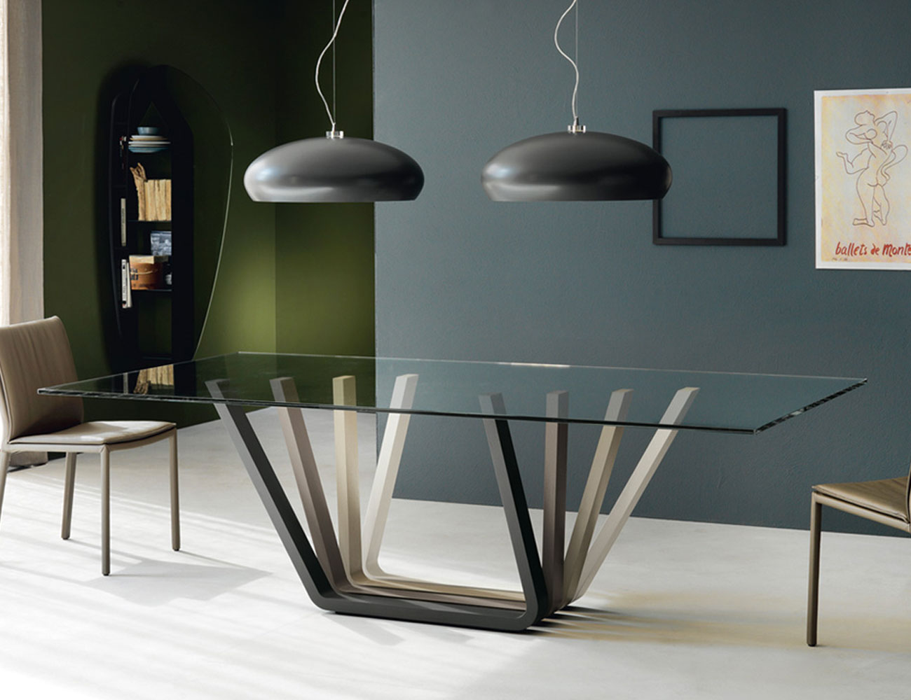 Glass-dining-table-Cattelan-Italia-Domino