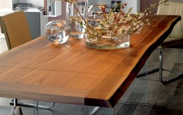 Ikon-natural-wood-table by Cattelan Italia