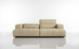 Modern Karma sofa by Cierre with adjustable backrests