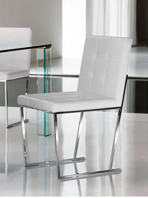 Modern dining room chairs by top Italian designers
