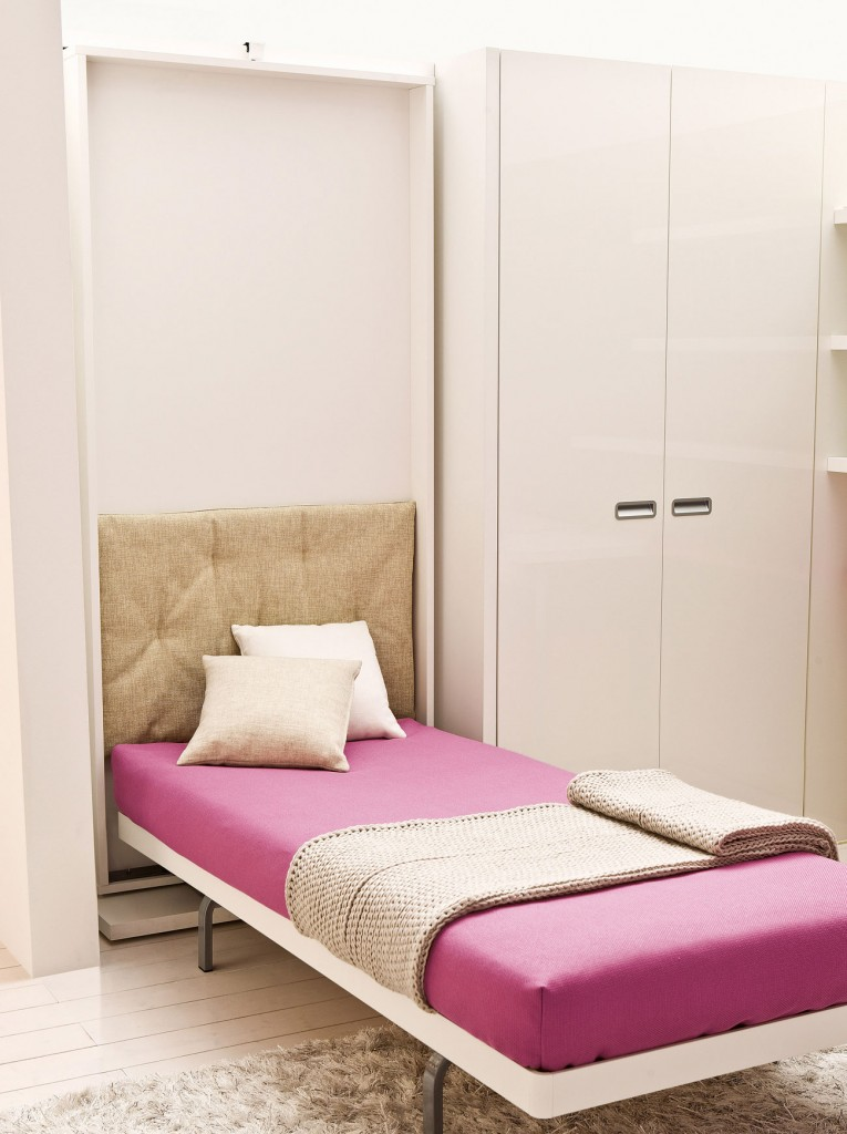 Lgs wall bed by clei anima domus for Clei wall bed