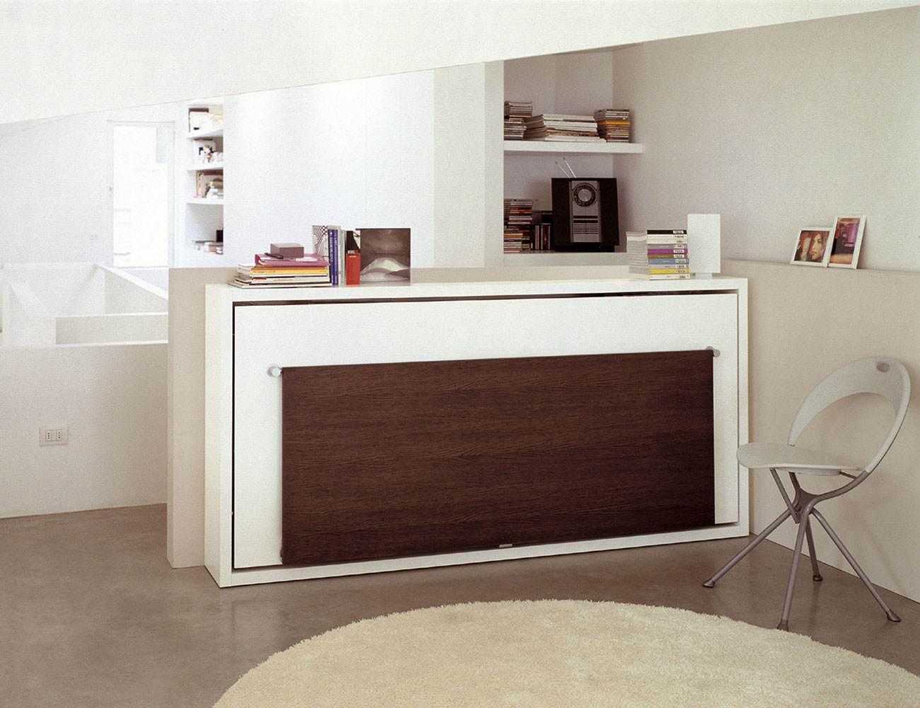 Poppi Desk wall bed by Clei